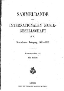 Pagine da SammelbndeDerInternationalenMusikgesellschaft131911-12