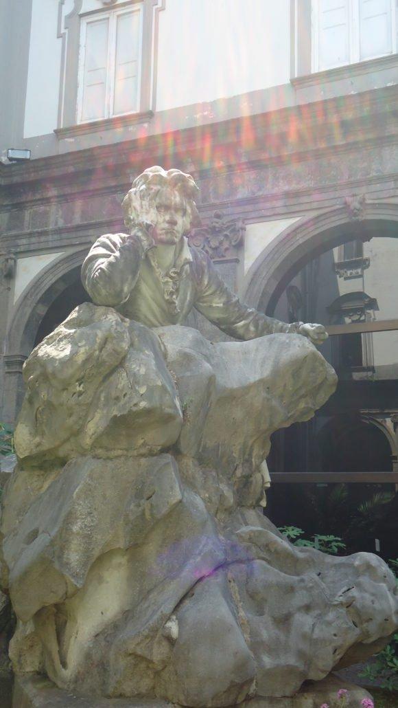 La statua di Beethoven di Francesco Jerace