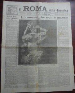 Il Roma del 6 dicembre 1925