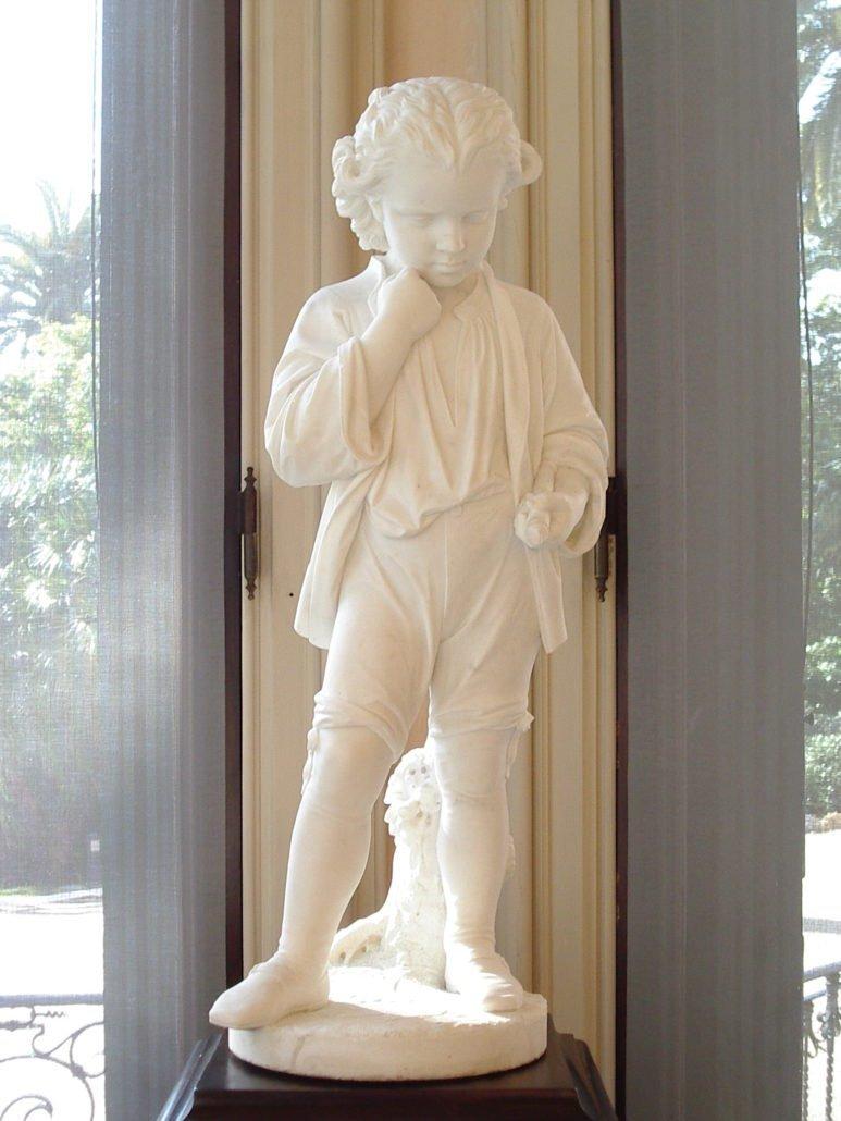 """La statua """"Beethoven giovinetto"""" di Pasquale Romanelli"""