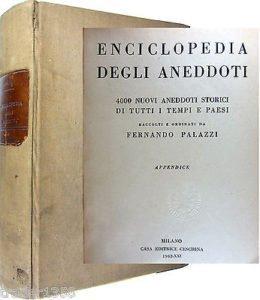 Palazzi Fernando Enciclopedia degli aneddoti