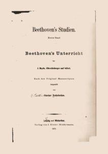 Nottebohm_Beethovens_Studien