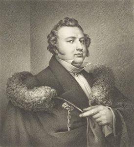 Selsportret_fan_Otto_de_Boer_(1797-1856)
