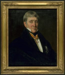 Richter, Johann Heinrich: Wegeler, Franz Gerhard; Halbfigur en face - Ölgemälde