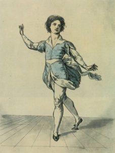 Il ballerino Salvatore Viganò