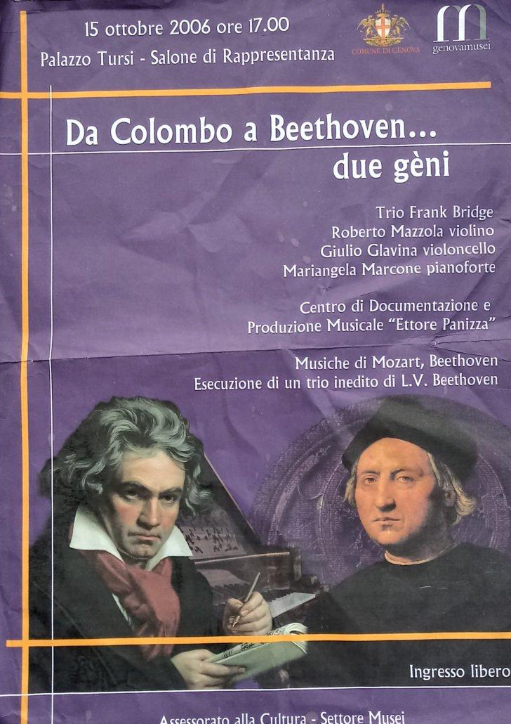 Hess 47 Redazione per pianoforte, violino e violoncello del trio per archi Opus 3 (incompiuto)