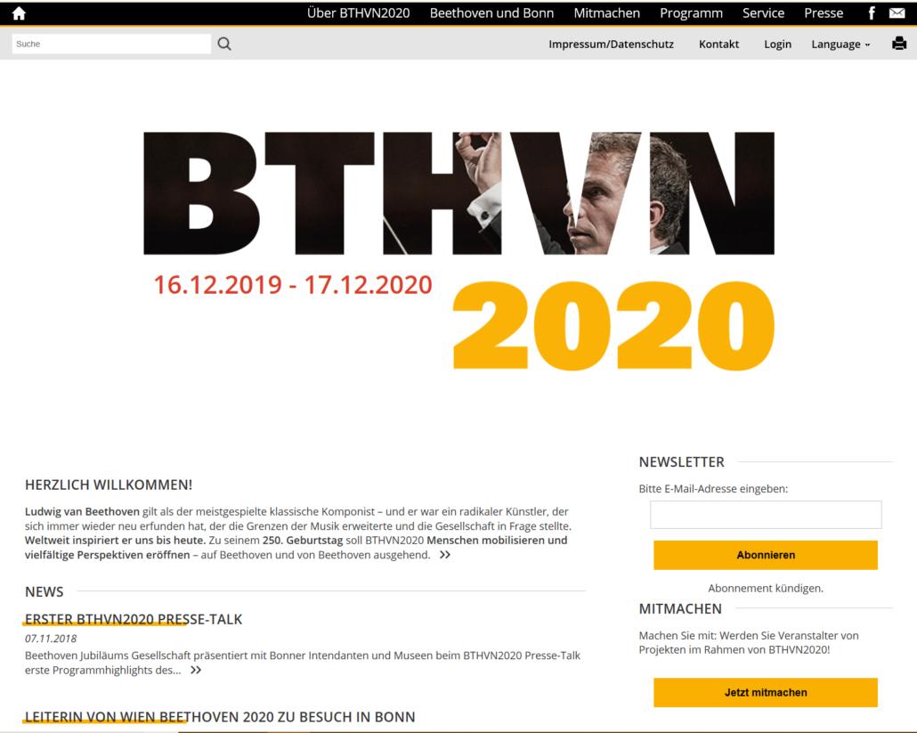 La BeethovenHaus è il punto di riferimento ufficiale per la ricerca sul Maestro di Bonn. Frammenti, abbozzi, ricordi, mostre permanenti o temporali, il Beethoven Archiv… Hanno onorato noi tutti con un link diretto al nostro sito.