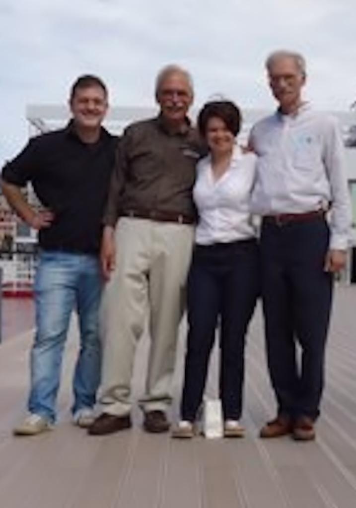 James Green e Benedetta Saglietti a Genova