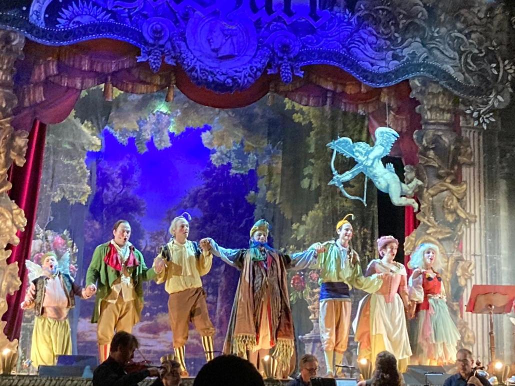 """LVBeethoven.it Ricerche Musicali alla rappresentazione """"Bastiano e Bastiana"""" di Mozart."""