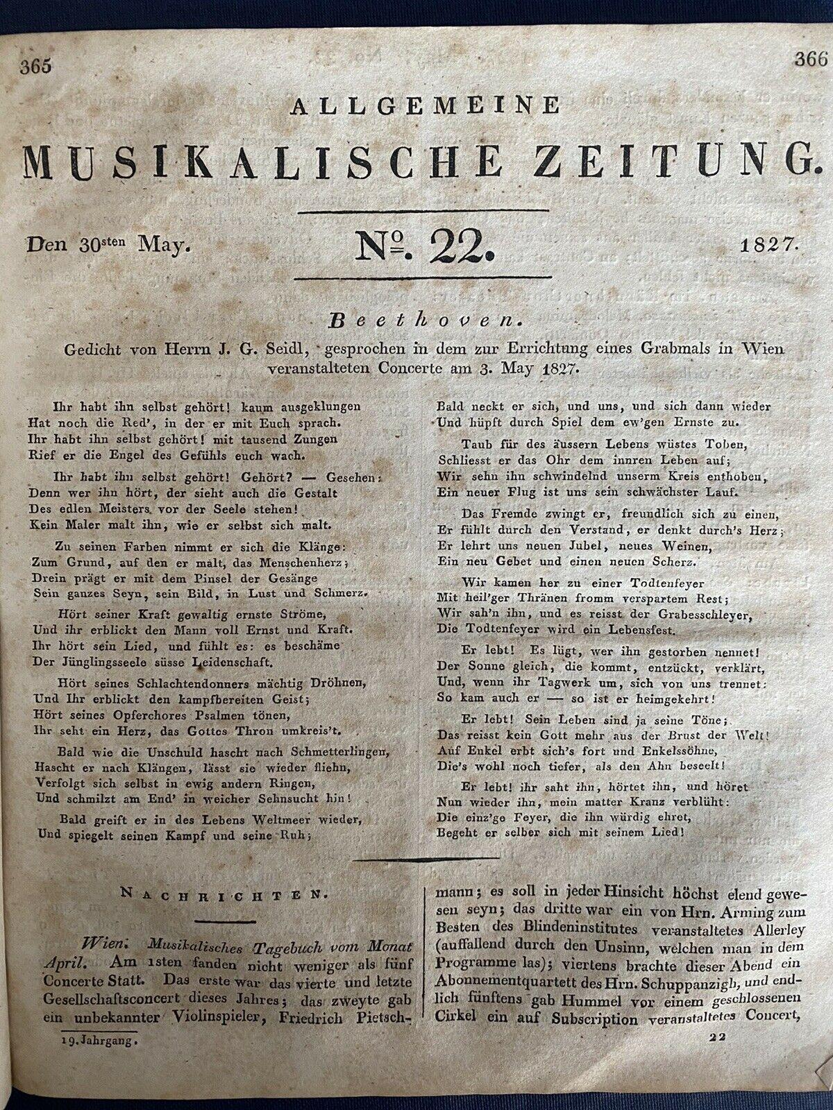 Allegemeine Musikalische Zeitung