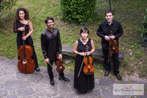 Alla Maniera Italiana String Quartet  esecuzione su strumenti storici