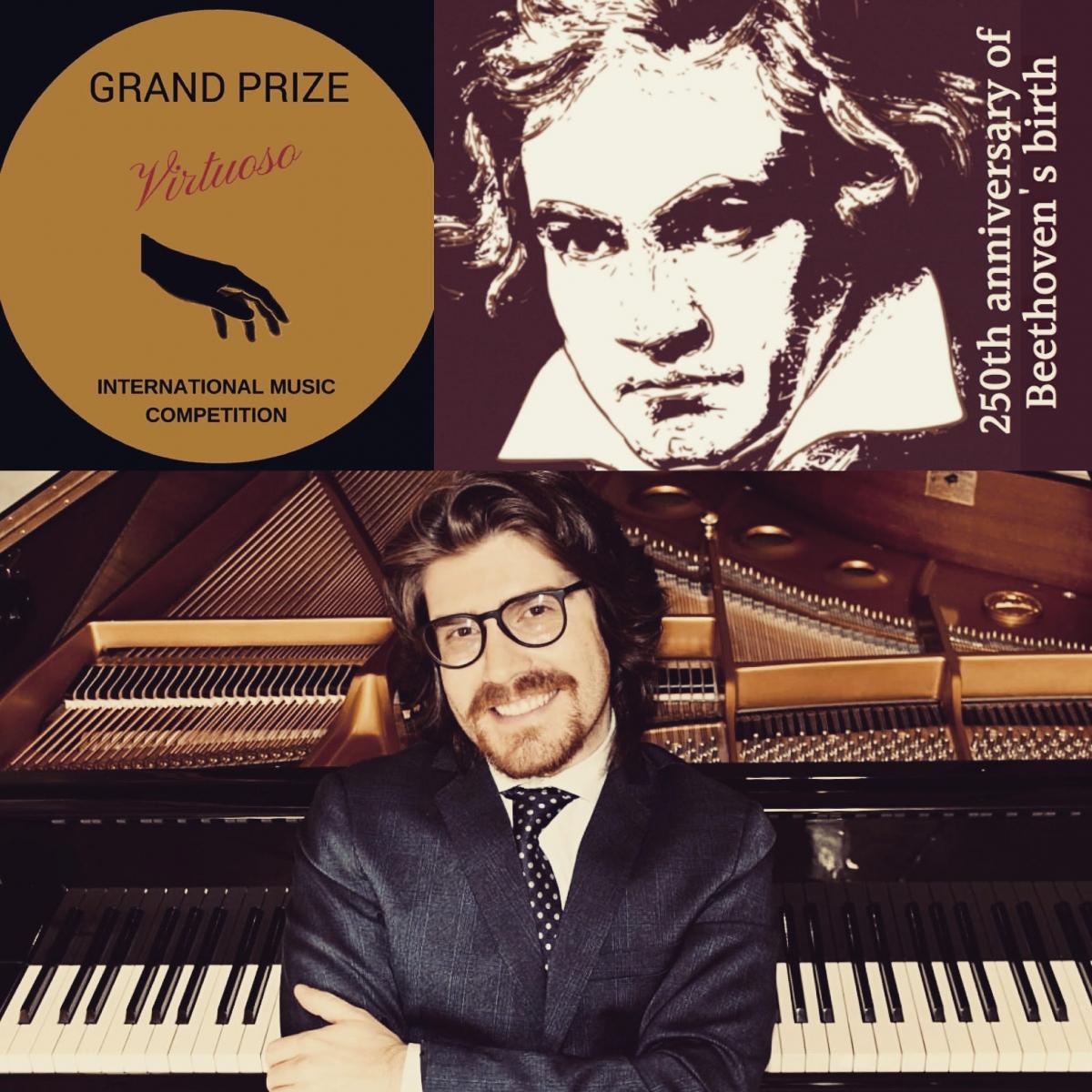 Emanuele Stracchi alla Beethovenhaus, Agosto 2021